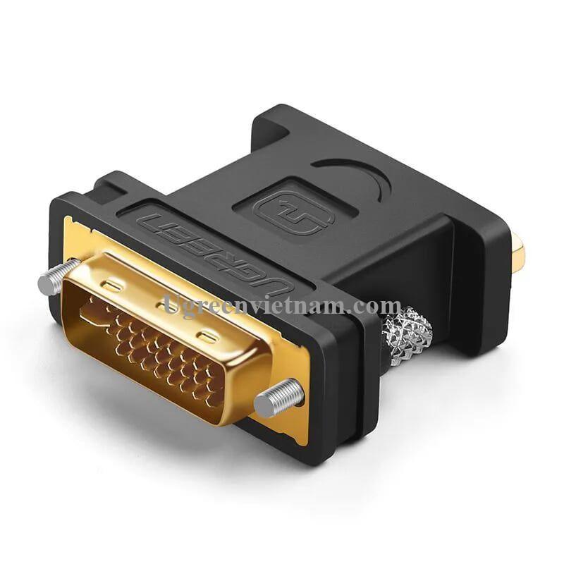Ugreen 20122 Màu Đen Đầu chuyển đổi DVI 24 + 5 sang VGA âm 20122 20020122