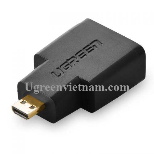Ugreen 20106 Màu Đen Đầu chuyển đổi Micro HDMI sang HDMI 20106