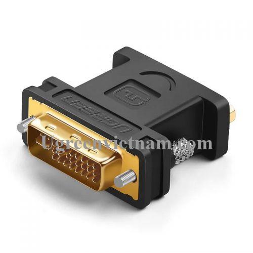 Ugreen 20122 Màu Đen Đầu chuyển đổi DVI 24+5 sang VGA âm 20122