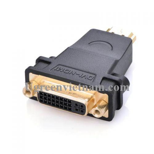 Ugreen 20123 Màu Đen Đầu chuyển đổi HDMI sang DVI 24+5 âm 20123