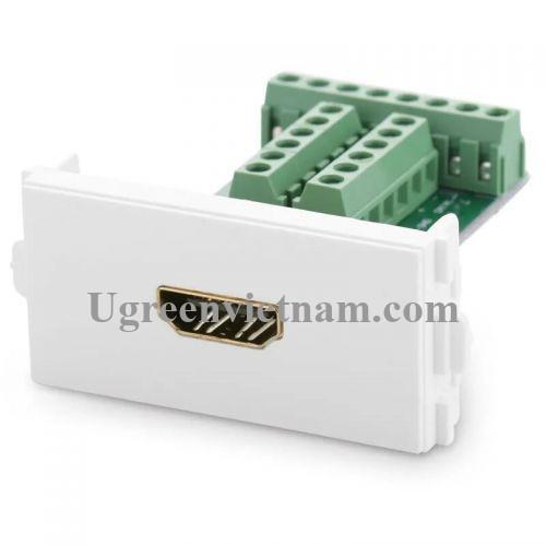 Ugreen 20315 Đầu HDMI âm tường bắt vít cao cấp 20315