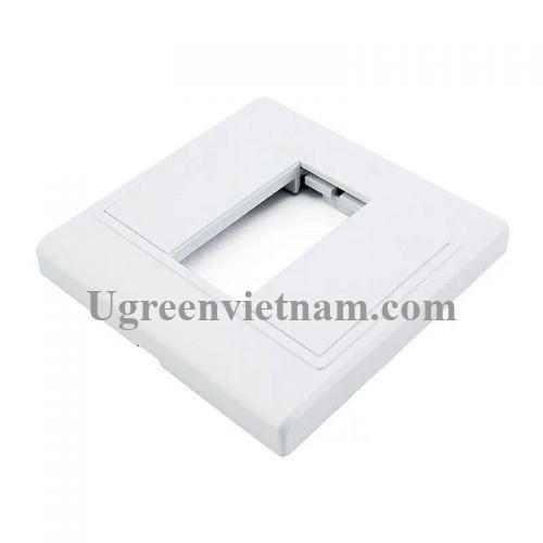 Ugreen 20316 Màu Trắng Khung HDMI âm tường 20316
