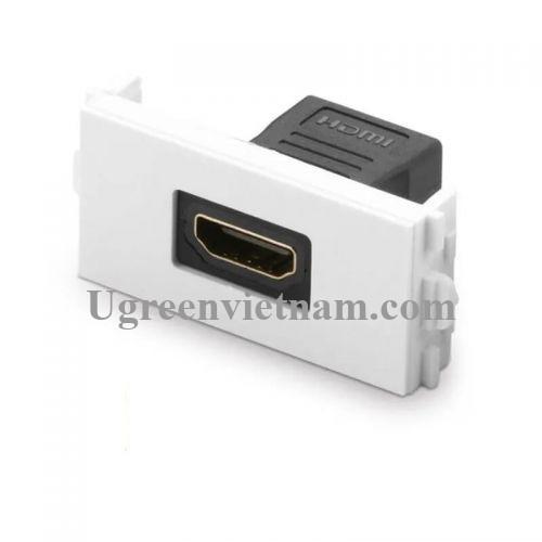 Ugreen 20317 Màu Đen Mặt nạ HDMI âm tường cao cấp MM113