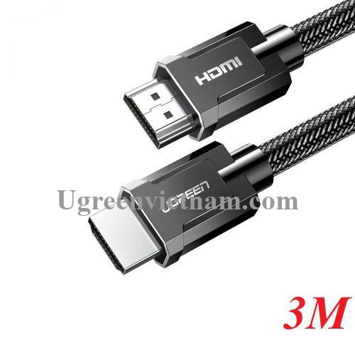 Ugreen 80602 3M HDMI 2.1 8K 60Hz 4K 120hz màu đen Cáp Ultra HD Cao Cấp HD135 20080602
