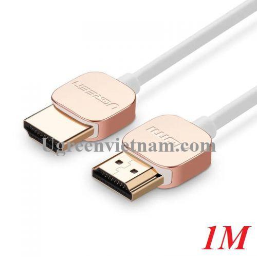 Ugreen 10474 1M Hdmi Cable Ultra Slim Version 2.0 19+1 HD117
