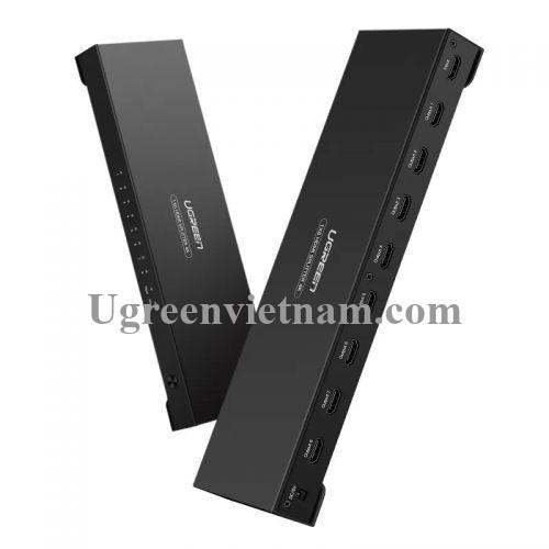 Ugreen 40203 Màu Đen Bộ chia HDMI 1 ra 8 hỗ trợ phân giải FULL HD 40203