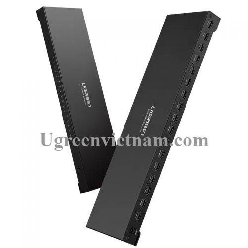 Ugreen 40218 Màu Đen Bộ chia HDMI 1 ra 16 hỗ trợ phân giải FULL HD 40218