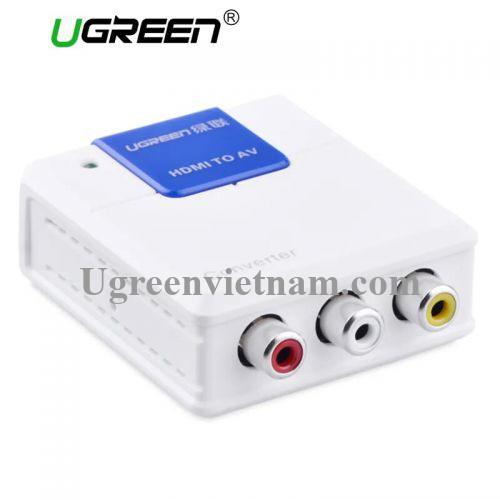 Ugreen 40223 Màu Trắng Bộ chuyển đổi HDMI sang AV 40223