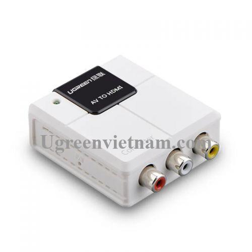 Ugreen 40225 Màu Trắng Bộ chuyển đổi tín hiệu AV sang HDMI âm 40225