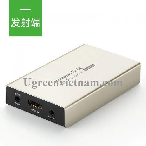 Ugreen 40280 120M Màu Vàng Bộ phát HDMI qua cáp Lan Cat 5E + 6 MM116