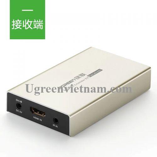 Ugreen 40283 120M Màu Vàng Bộ nhận HDMI qua cáp Lan Cat 5E + 6 MM116