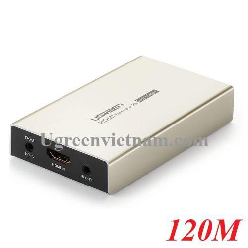 Ugreen 30942 120M 3D 1080P 60hz chỉ có bộ nhận HDMI qua cáp Ethernet đơn Cat 7/6/5e MM116 20030942
