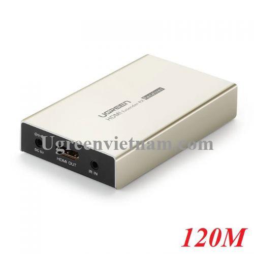 Ugreen 30945 120M Bộ nhận tín hiệu HDMI qua cáp mạng RJ45 Cat5e Cat6 MM116