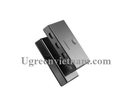 Ugreen 50707 Bộ chia HDMI 1 ra 2 chuẩn HDMI 2.0 CM186 20050707
