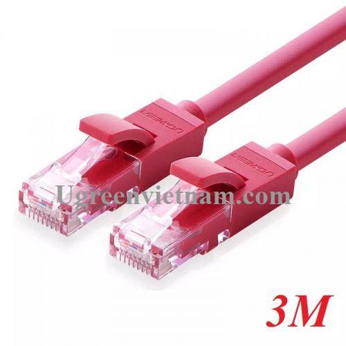 Ugreen 11212 3M màu Đỏ Cáp mạng LAN CAT 6 UTP NW101