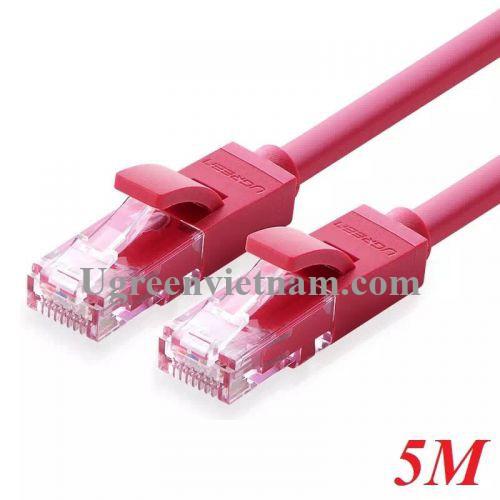 Ugreen 11213 5M màu Đỏ Cáp mạng LAN CAT 6 UTP NW101