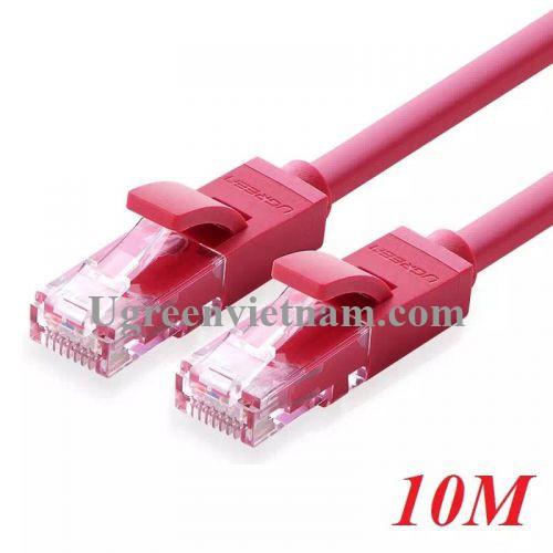 Ugreen 11215 10M màu Đỏ Cáp mạng LAN CAT 6 UTP NW101