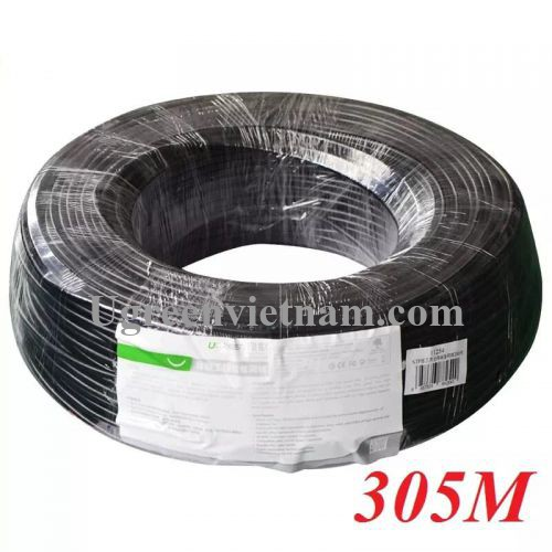 Ugreen 11259 305M Màu Đen Cat6 Utp Lan Cable 305M NW109