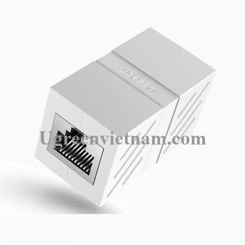 Ugreen 20311 Màu Trắng Đầu nối dài dây mạng CAT6 cao cấp NW114