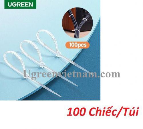 Ugreen 80109 100 chiếc kích thước 150x2.5mm Dây thít nhựa NW139 20080109
