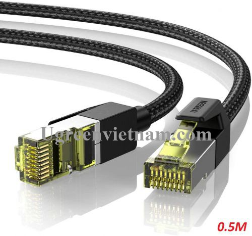 Ugreen 80420 0.5M CAT7 OD5.5mm cáp mạng truyền dữ liệu giữa các máy tính NW150 20080420