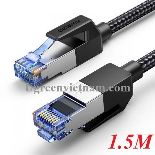 Ugreen 80430 1.5M Cat8 Cáp nối mạng truyền dữ liệu giữa các máy tính OD5.5mm màu đen NW153 20080430
