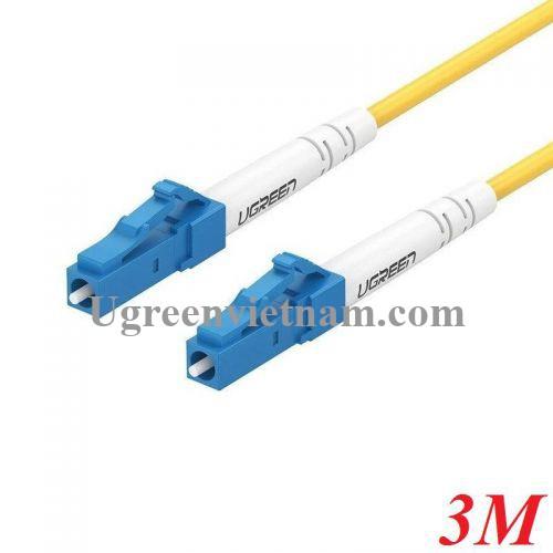 Ugreen 70663 3M LC-LC Single Mode cáp nhảy quang màu vàng NW130 20070663