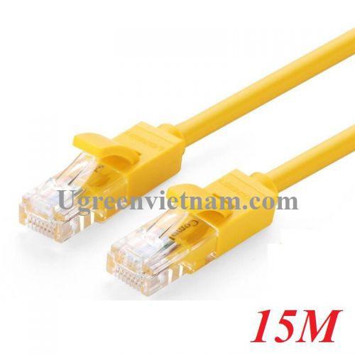 Ugreen 60815 15M màu Vàng Cáp mạng LAN CAT5E UTP NW103 20060815