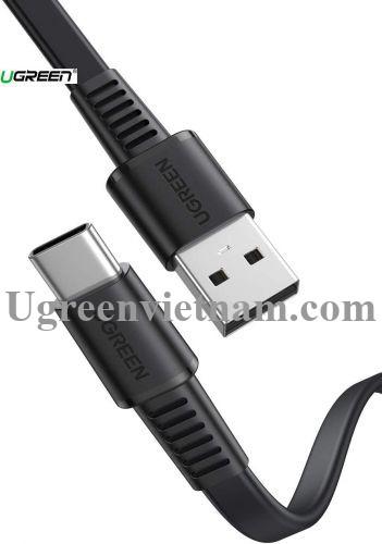Ugreen 10971 0.5M màu đen usb type c 2.0 cáp sạc và truyền dữ liệu từ máy tính ra điện thoại US332 20010971