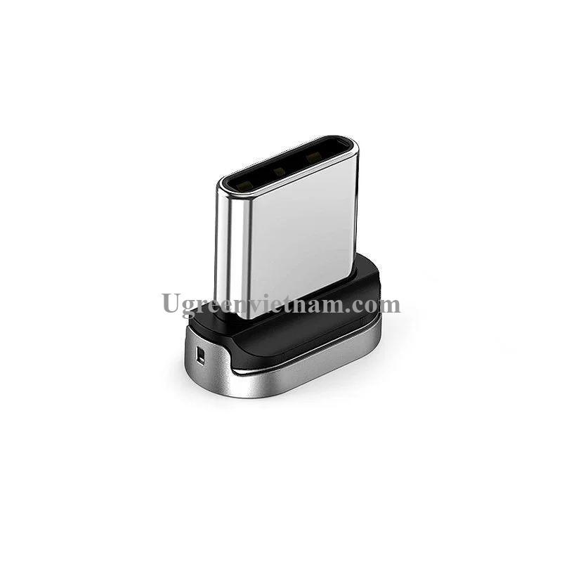 Ugreen 60210 Đầu USB type C hít nam châm dùng chung cho dây USB từ tính ED023 20060210