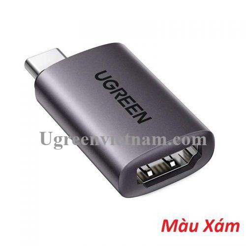 Ugreen 70450 Bộ chuyển đổi USB type c sang HDMI màu ghi xám US320 20070450