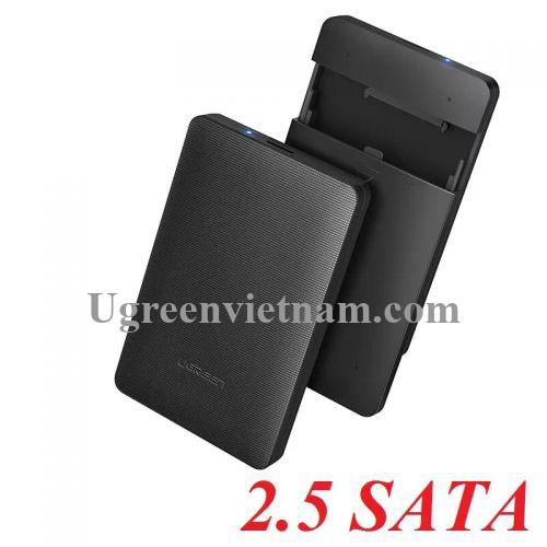 Ugreen 50208 Màu Đen Hộp đựng ổ cứng 2.5 chuẩn SATA 3.0 CM135