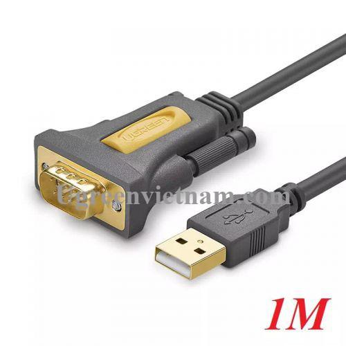 Ugreen 20210 1M Cáp tín hiệu chuyển đổi USB 2.0 sang COM RS232 cao cấp CR104
