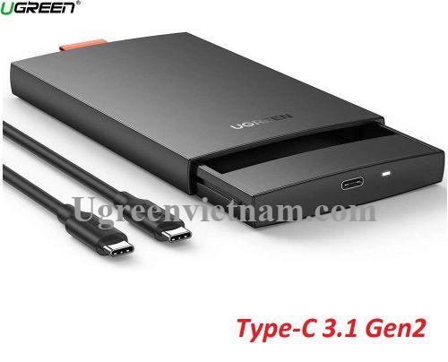 Ugreen 80556 USB 3.0 hộp đựng ổ cứng 2.5Inch CM237 20080556