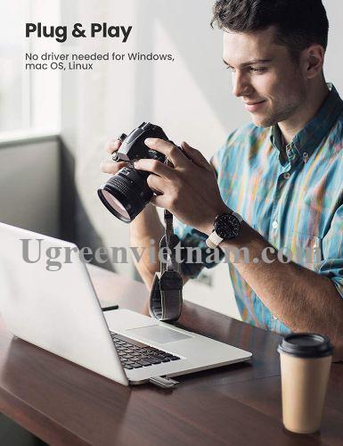 Ugreen 10911 Tf+Sd Usb 3.0 Card Reader CM406 20010911