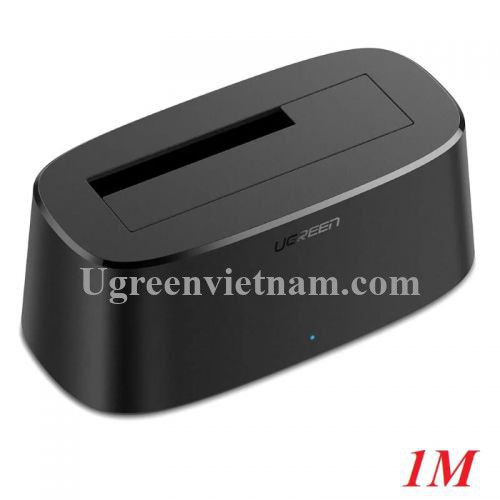 Ugreen 50845 1M màu đen Docking cho ổ cứng SATA ra USB 3.0 hỗ trợ hdd 2.5 3.5 SSD CM197 20050845