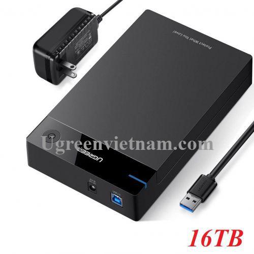 Ugreen 50423 hỗ trợ 16TB hộp đựng ổ cứng 3.5